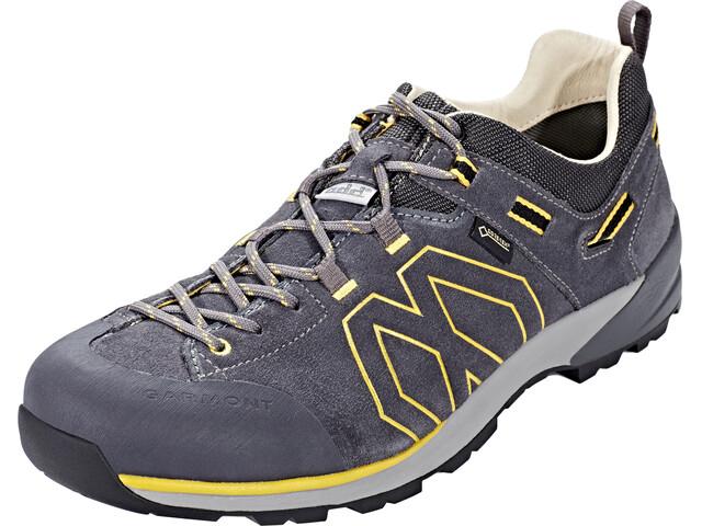 Garmont Santiago Low GTX Hiking Low Cut Shoes Men Dark Grey/Yellow